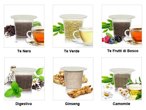 чай в капсулах для nespresso